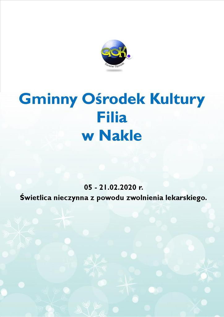 Plakat - Ferie Zimowe z GOK Filia Nakło.jpeg