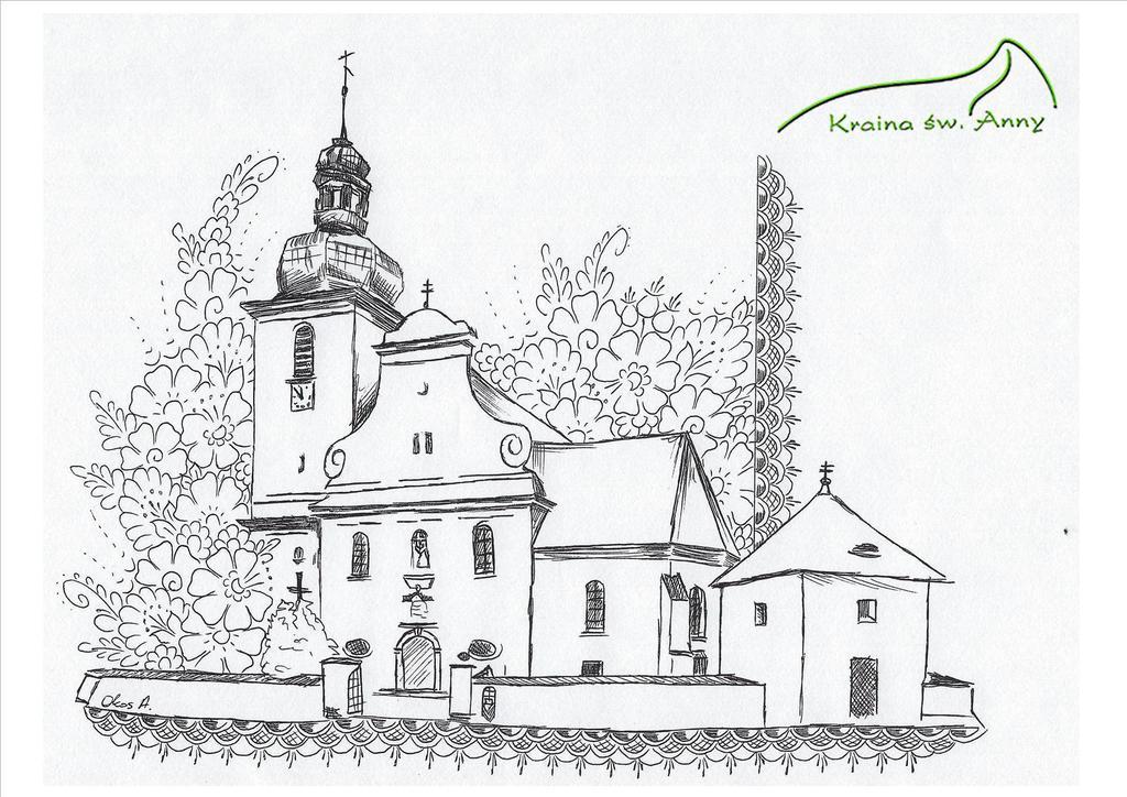 Kościół w Tarnowie Opolskim - Kolorowanka Okos A..jpeg