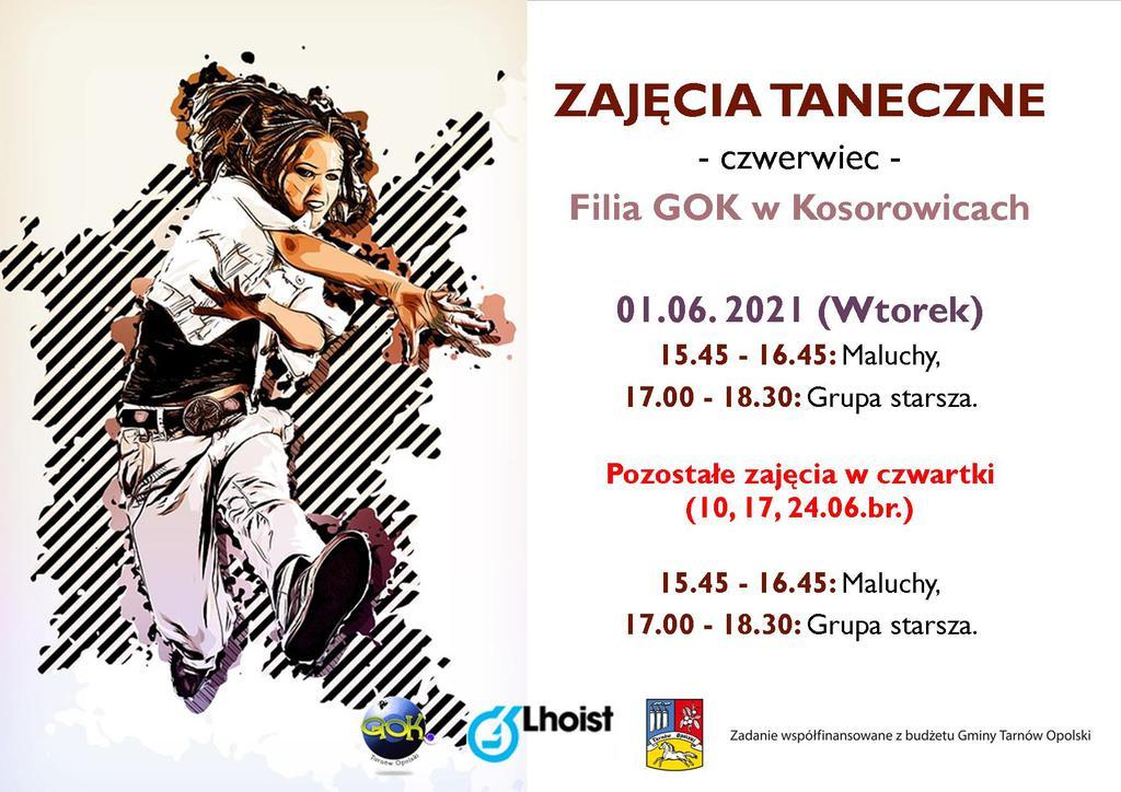 Kosorowice, Zajęcia taneczne czerwiec 2021.jpeg