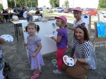 Galeria Pracownia Plastyczna Dzień Otwarty Gminnego Ośrodka Kultury w Tarnowie Opolskim